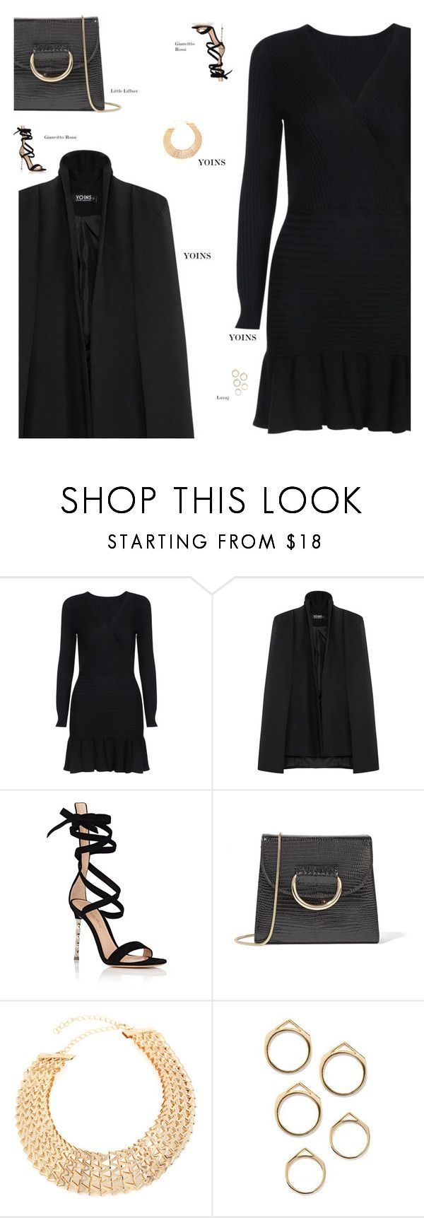 """""""YOINS"""" by s-thinks ❤ liked on Polyvore featuring Gianvito Rossi and Little Liffner"""