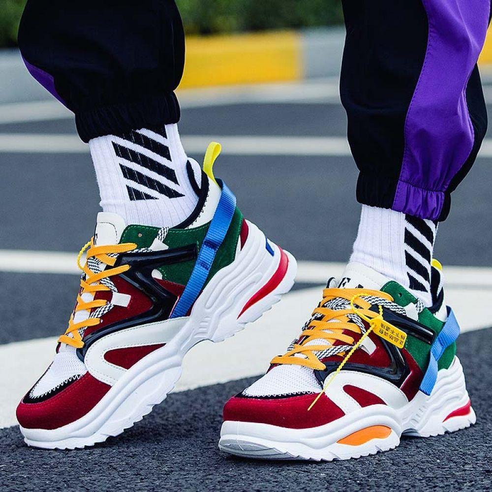 Mens Rat Cartoon Cute High Athletic Socks Shoe Running