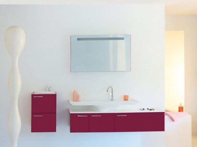 Salle de bains blanche fush | Salle de bains | Bathroom | Pinterest ...