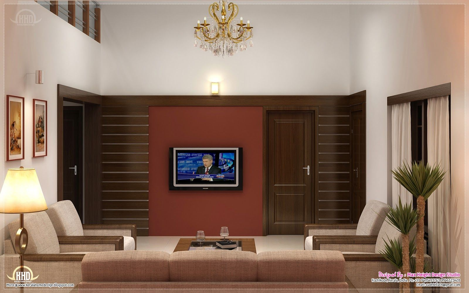 Living room ideas kerala | Home interior design, Home ...