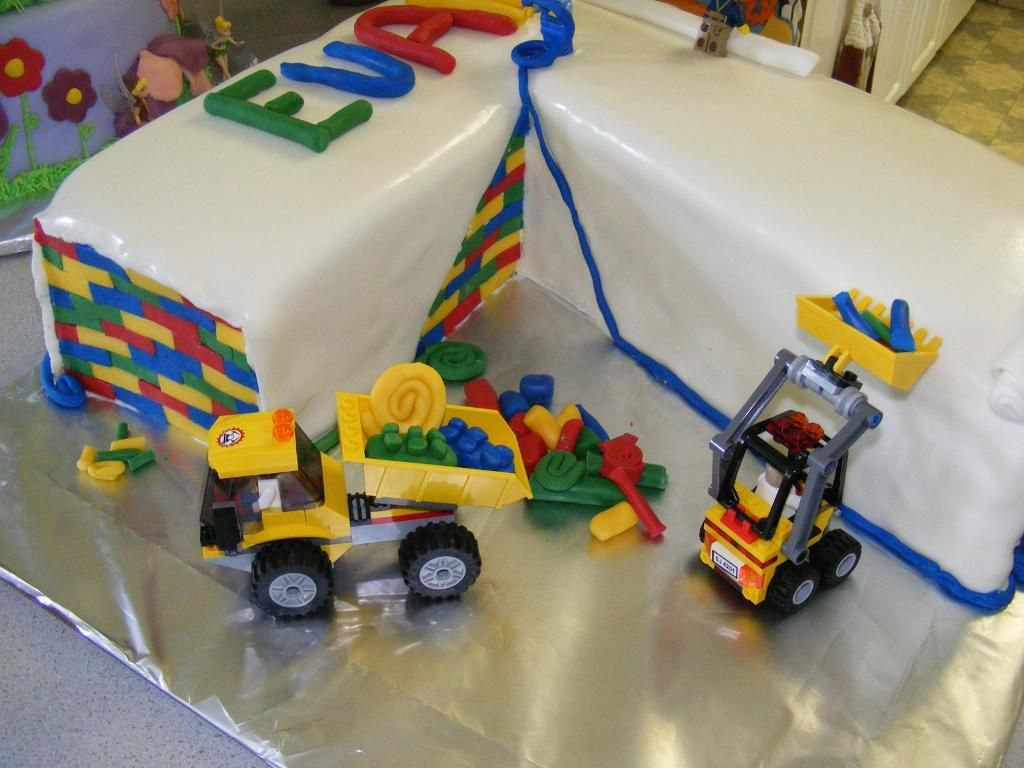 Lego Birthday Party Super Heroes Lego Technic 2 Cake Ideas And