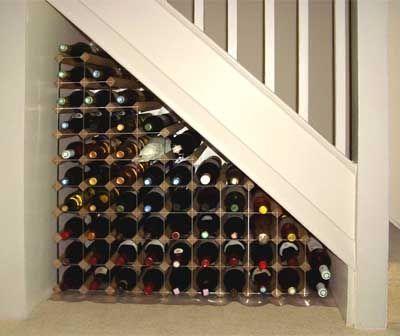 comment utliser l'espace sous un escalier ? | escaliers, espace et
