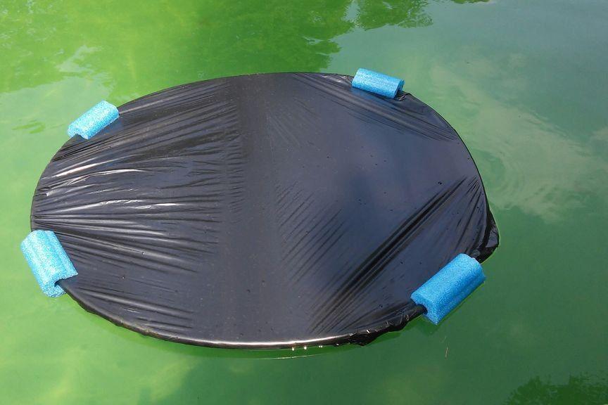 Lily Pad Solar Pool Warmers Pool warmer, Solar pool, Diy