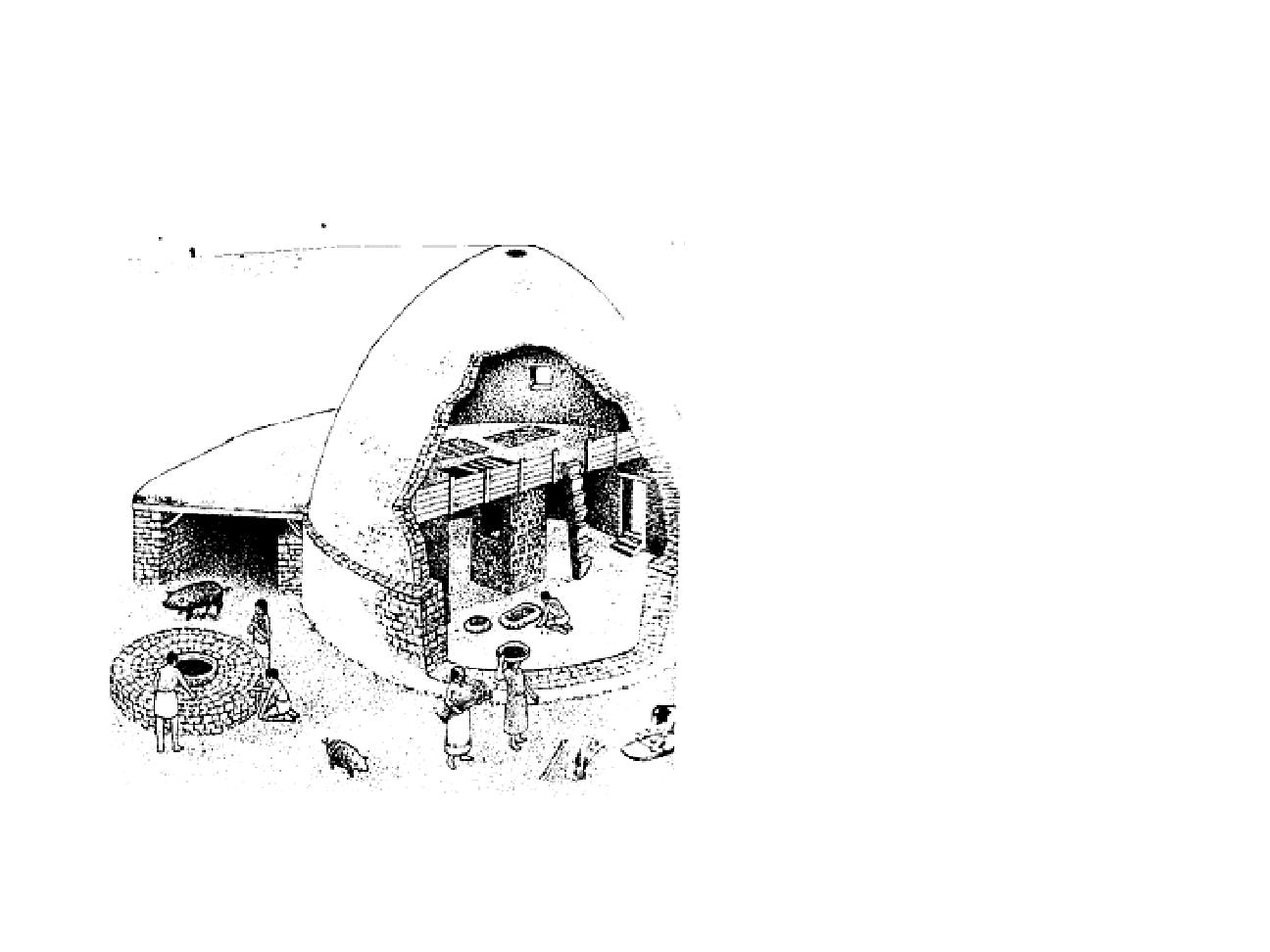PREHISTORY, Evolution Of Houses