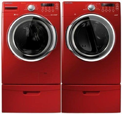 Red Tornado Samsungspincycle Clothes Washing Machine Samsung Laundry New Washer And Dryer