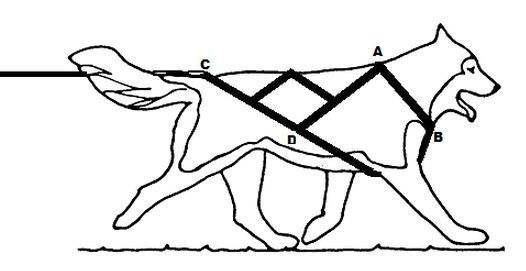 siwash dog harness variations - Google Search | Custom Service Dog