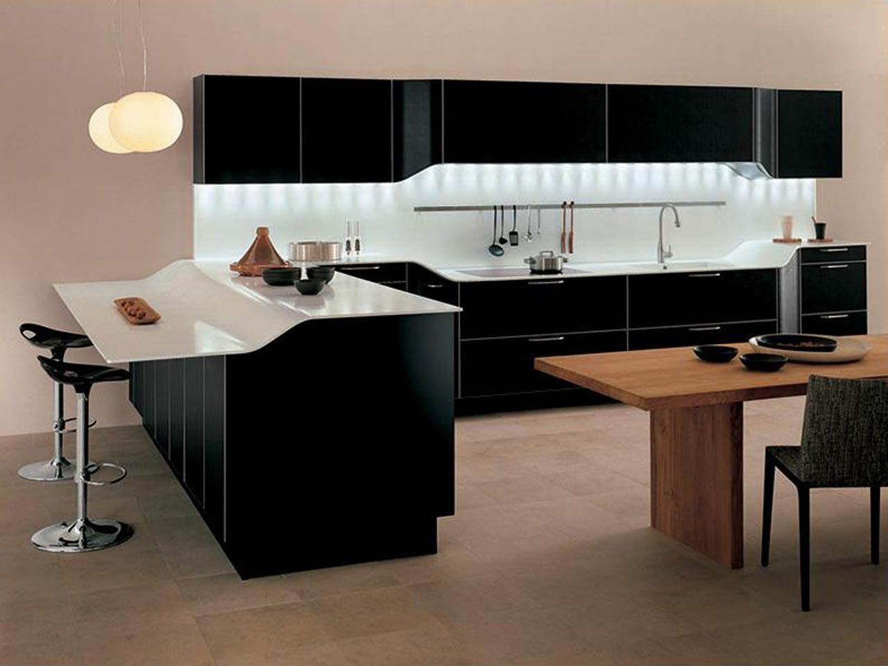 Modern Kitchen And Modern Kitchen Pics Zampco