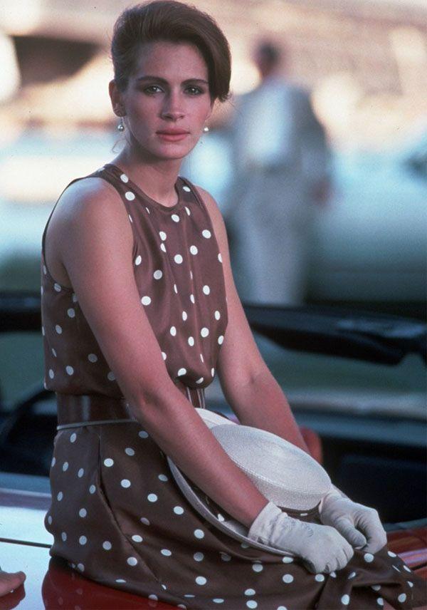 Polka Dots Filme Pretty Woman Vestidos Iconicos Mulher Bonita