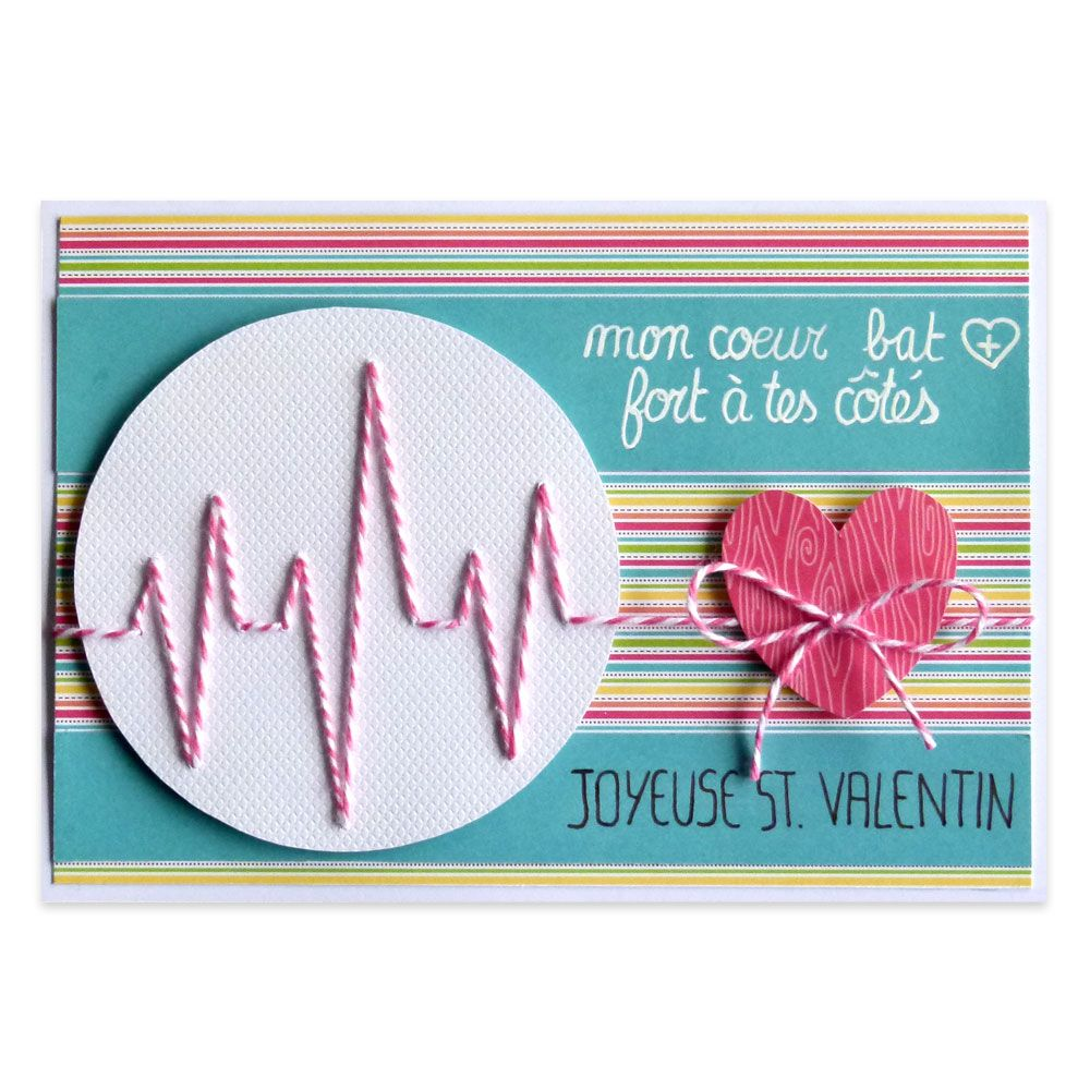 carte saint valentin electrocardiogramme saint valentin. Black Bedroom Furniture Sets. Home Design Ideas