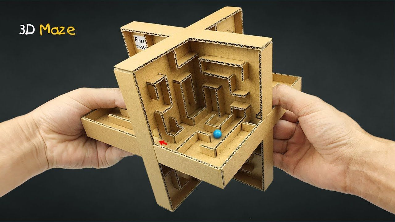 Marble From Cardboard
