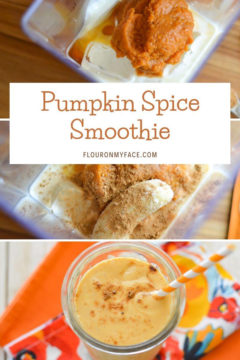 Creamy Pumpkin Smoothie Recipe - Flour On My Face