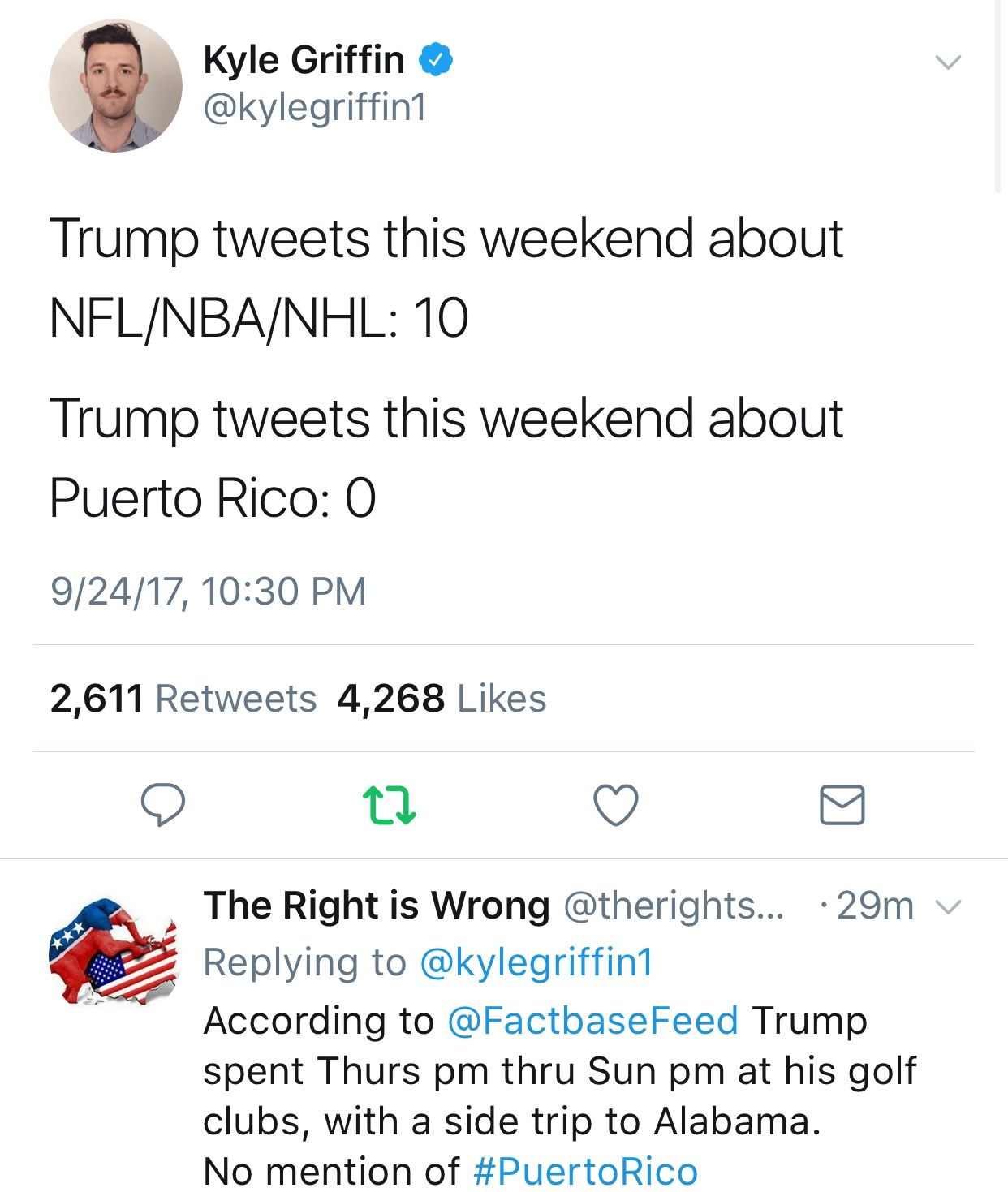 A Hole Republicans What Goes On Trump Tweets