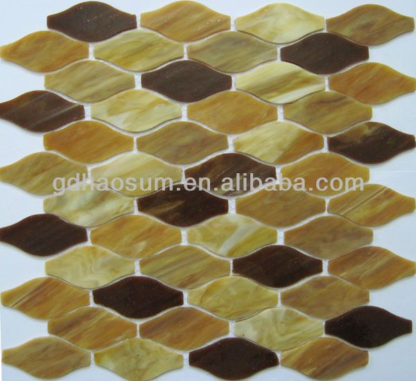 Tiffany Stained glass mosaic 300x300mm, View champagne color glass mosaic, Product Details from Guangzhou Haosum Glass Trade Co., Limited on Alibaba.com