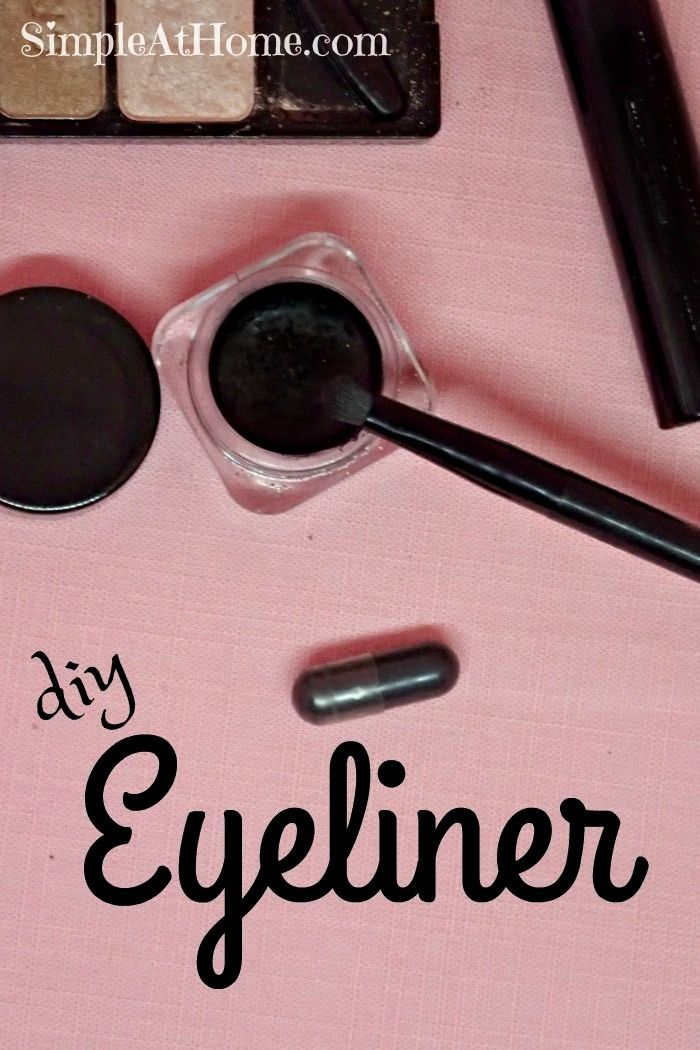 for an easy natural makeup DIY anyone can do Give this homemade eyeliner a try and save money on natural makeup you will loveLooking for an easy natural makeup DIY anyone...