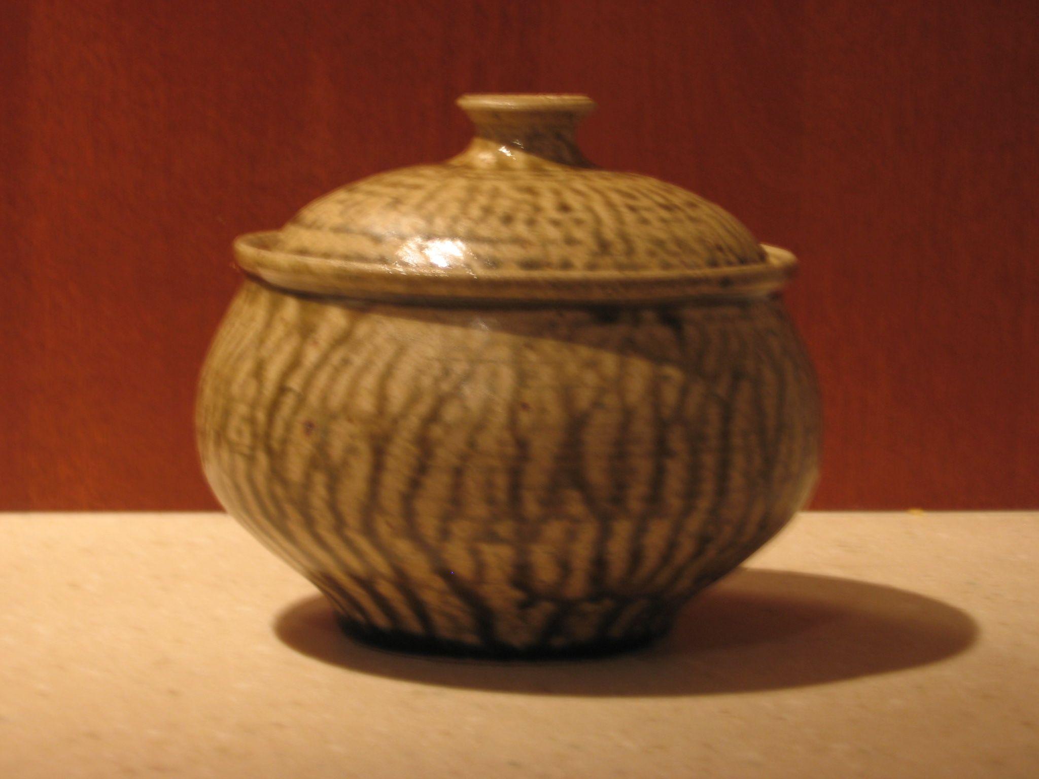 Stoneware Bowl Wheel Thrown Ohata Khaki