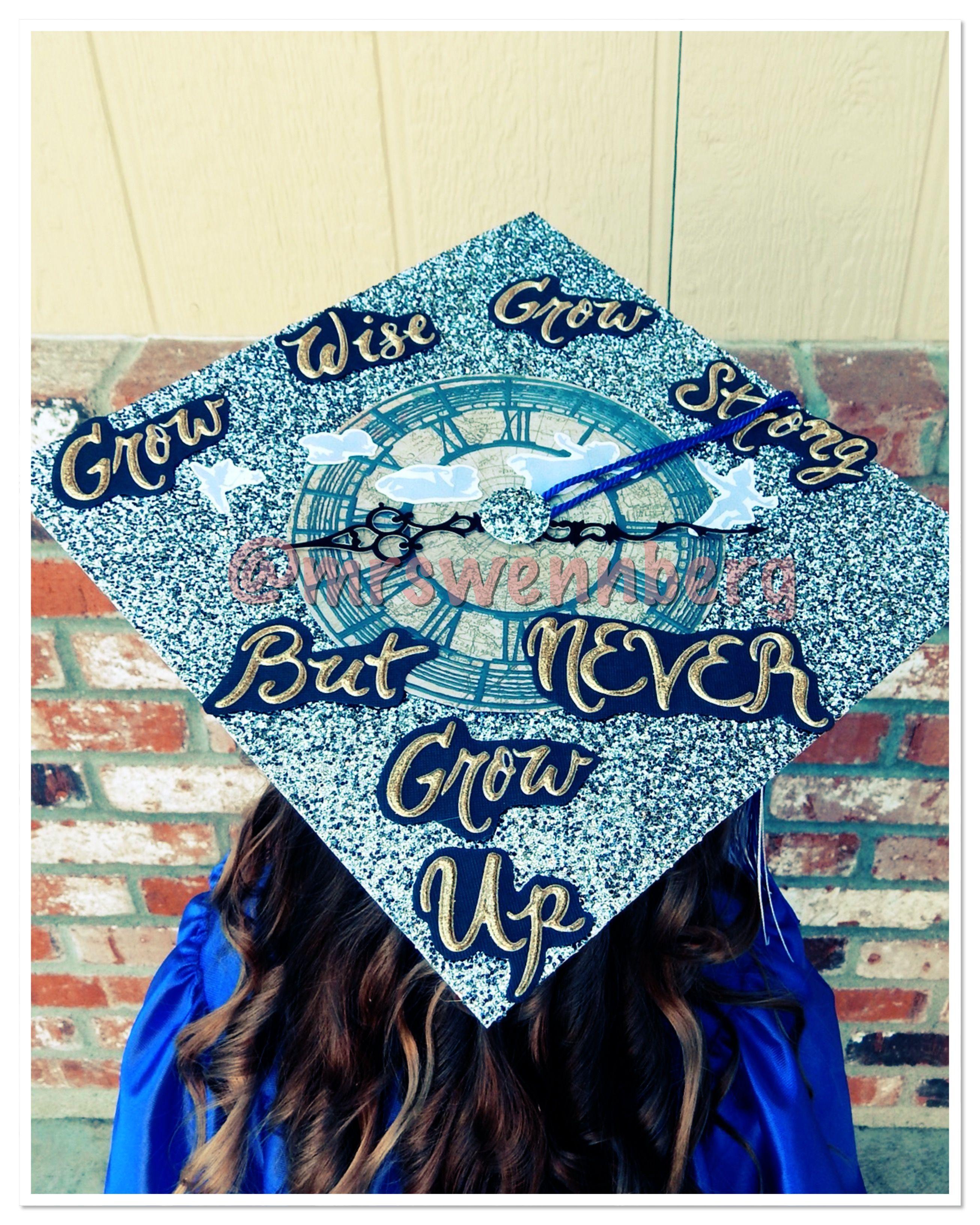 Delilah S Preschool Graduation Cap Nevergrowup Peterpan