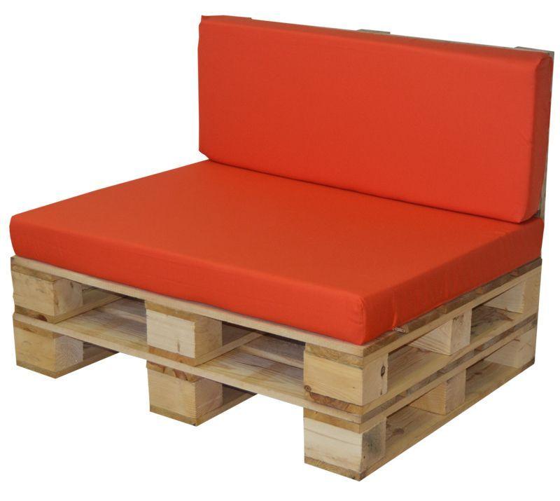 Conjunto palet: de sofa palet y cojín exterior para zonas ...