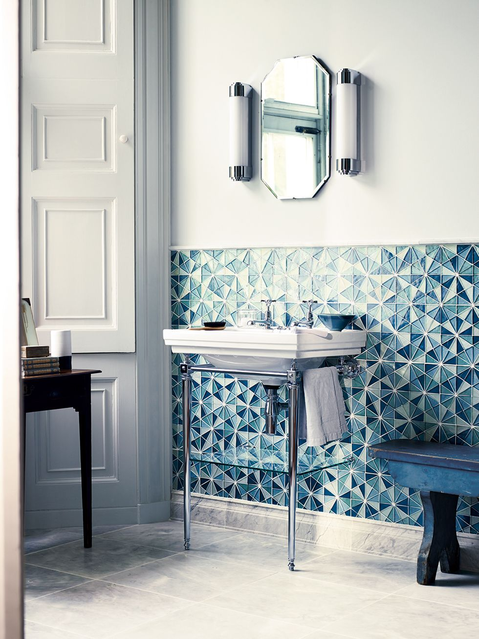 The new Iridescent glass mosaics range from Fired Earth | Tile it ...