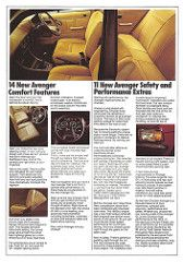 Chrysler Avenger 1980 (Hugo-90) Tags: auto newzealand car ads advertising plymouth cricket vehicle dodge motor todd chrysler 1980 brochure sunbeam hillman avenger polara rootes