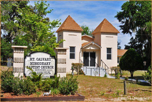 Ocala Florida Mt Calvary Missionary Baptist Church Missionary