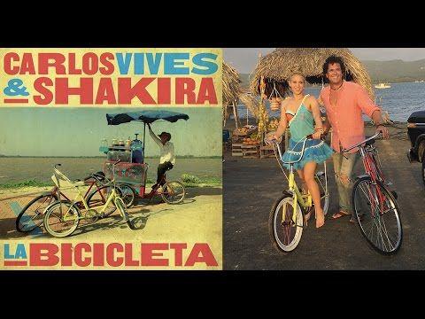 Shakira y Carlos Vives - La Bicicleta (Video lyrics) Letra de canción | Shakira. Bicycle. Teaching spanish