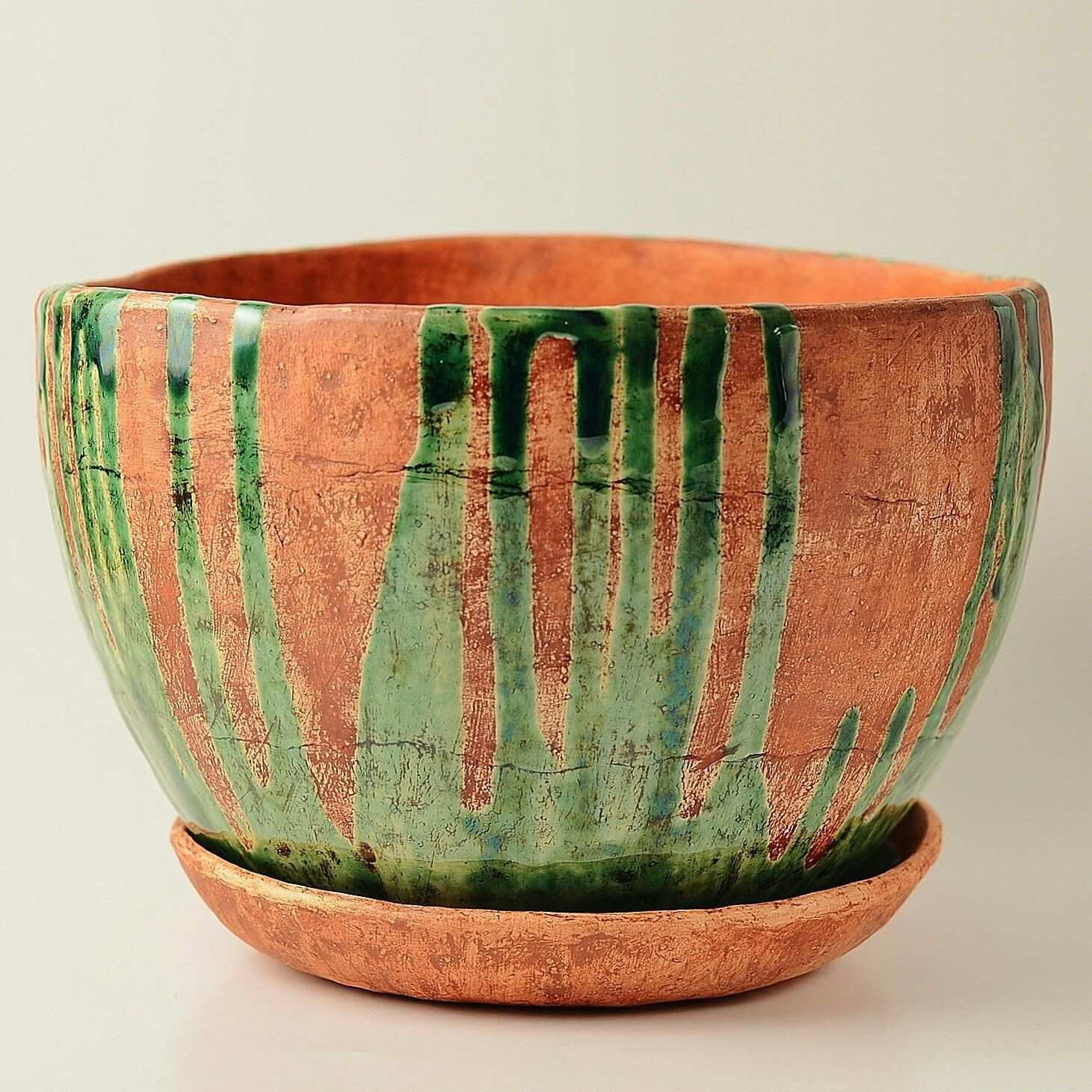 New Model Of Rustic Ceramic Large Flower Planter Pot In Our Shop Flower Pots Flower Pot Design Pot Designs