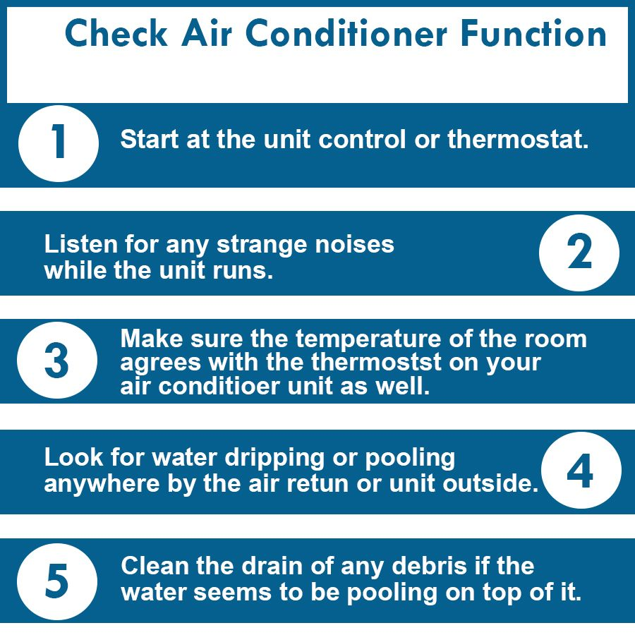 Simple step to check AirConditioner function ! Air
