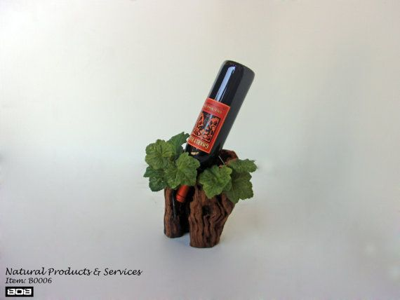 Single Wine Holder by NaturalProducts93 on Etsy