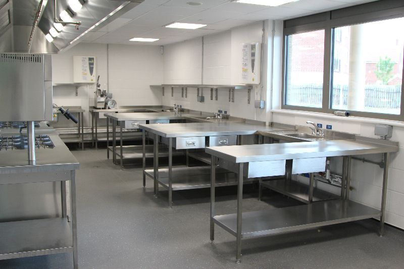 space installs a new food technology training kitchen that enables