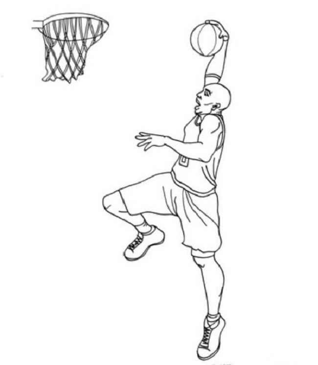 kobe bryant coloring pages | coloring Pages | Pinterest | Kobe bryant