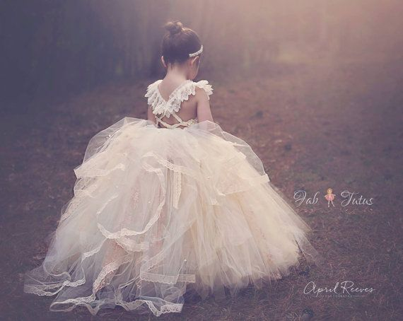 40   Etsy Flower Girl Dresses | Vintage inspired, Flower and ...