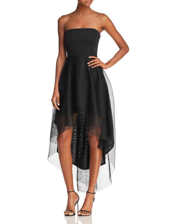 Elliatt Elysian Strapless HighLow Cocktail Dress | High low