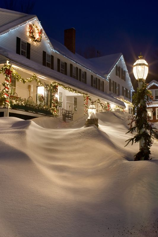 The Christmas Farm Inn Jackson Nh Love This Place Our Family S Cabin Was Right Behind It Christmas Farm Winter Scenery Christmas Scenes