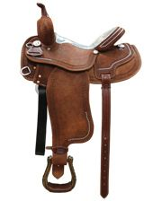"Court's Saddlery Company S. Camarillo Barrel Racer - 14"" Seat - www.fortwestern.com"