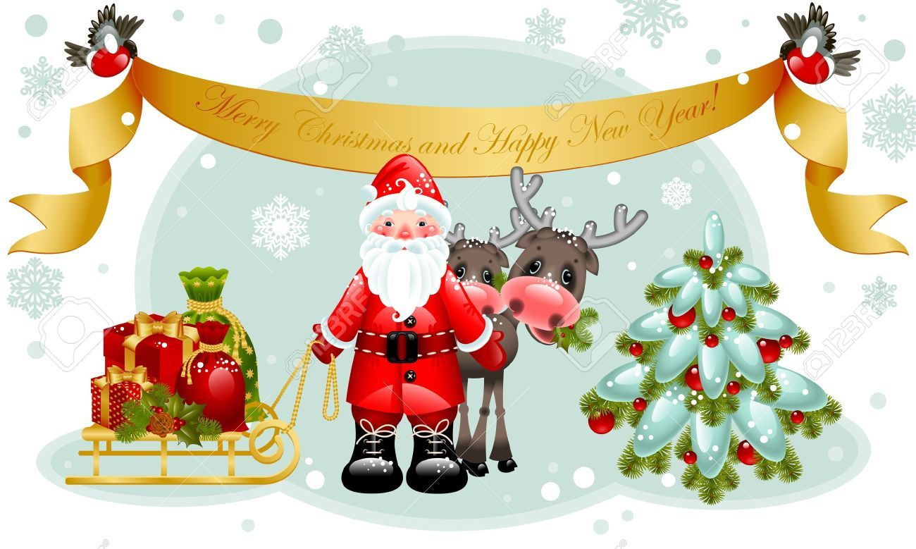 Merry Christmas And Happy New Year Wishes Quotes Images December