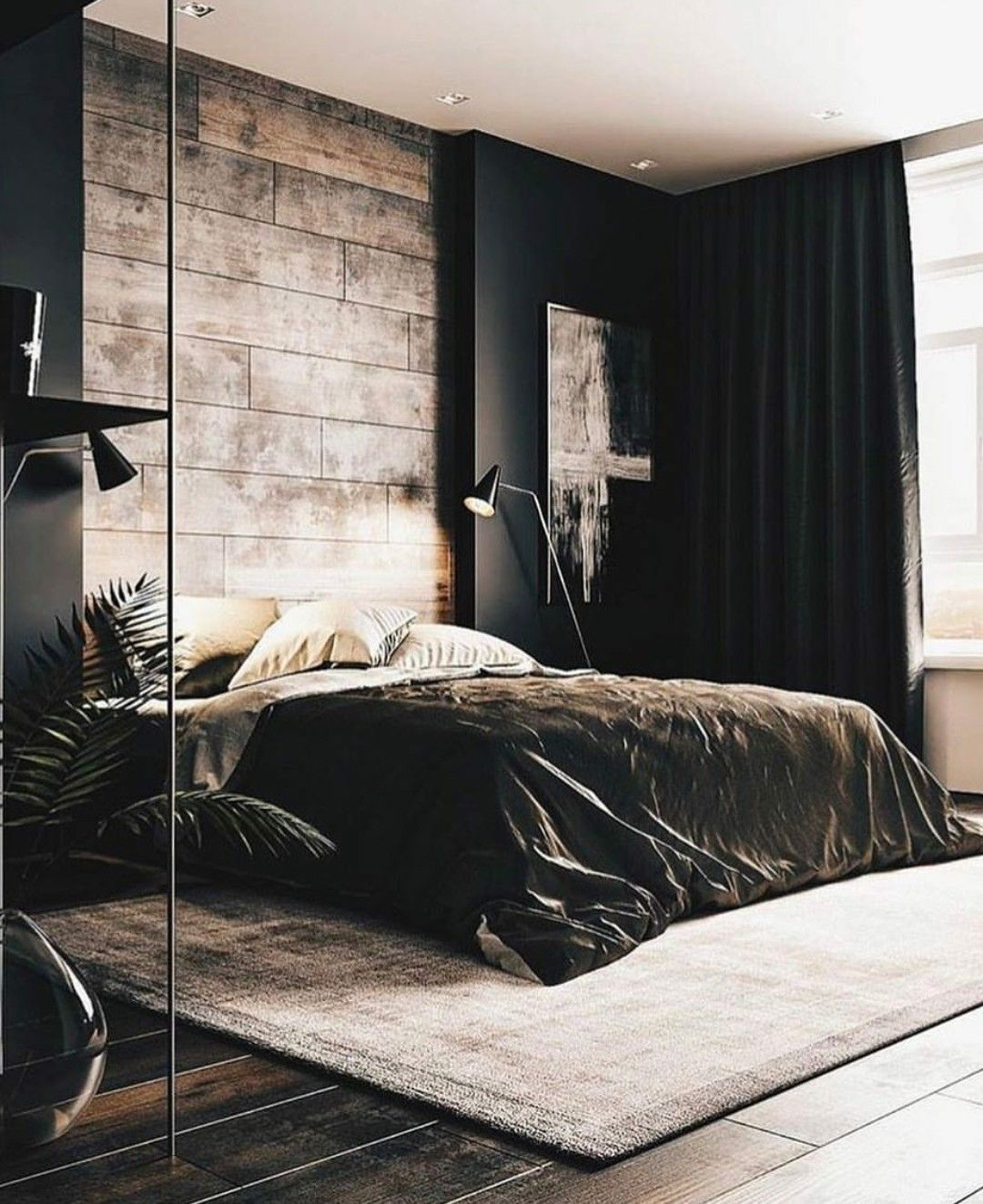 Pin On Industrial Modern Bedroom