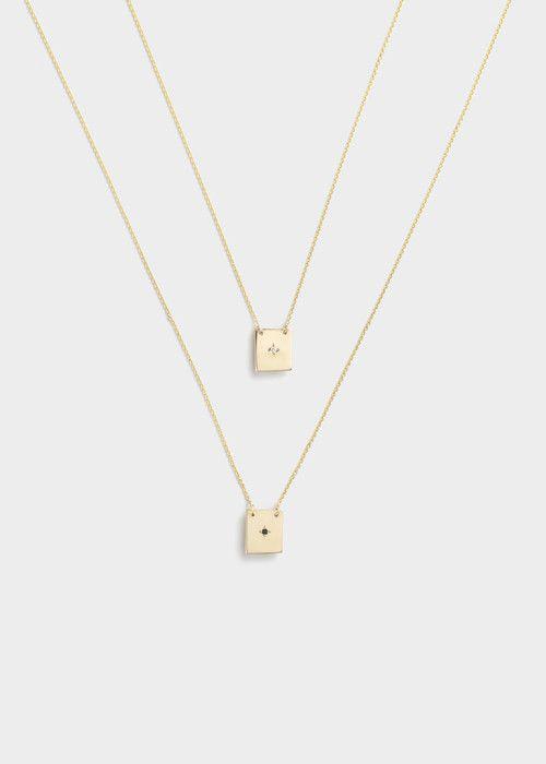 Necklace Iv Necklace Delicate Fine Jewelry Scapular Necklace