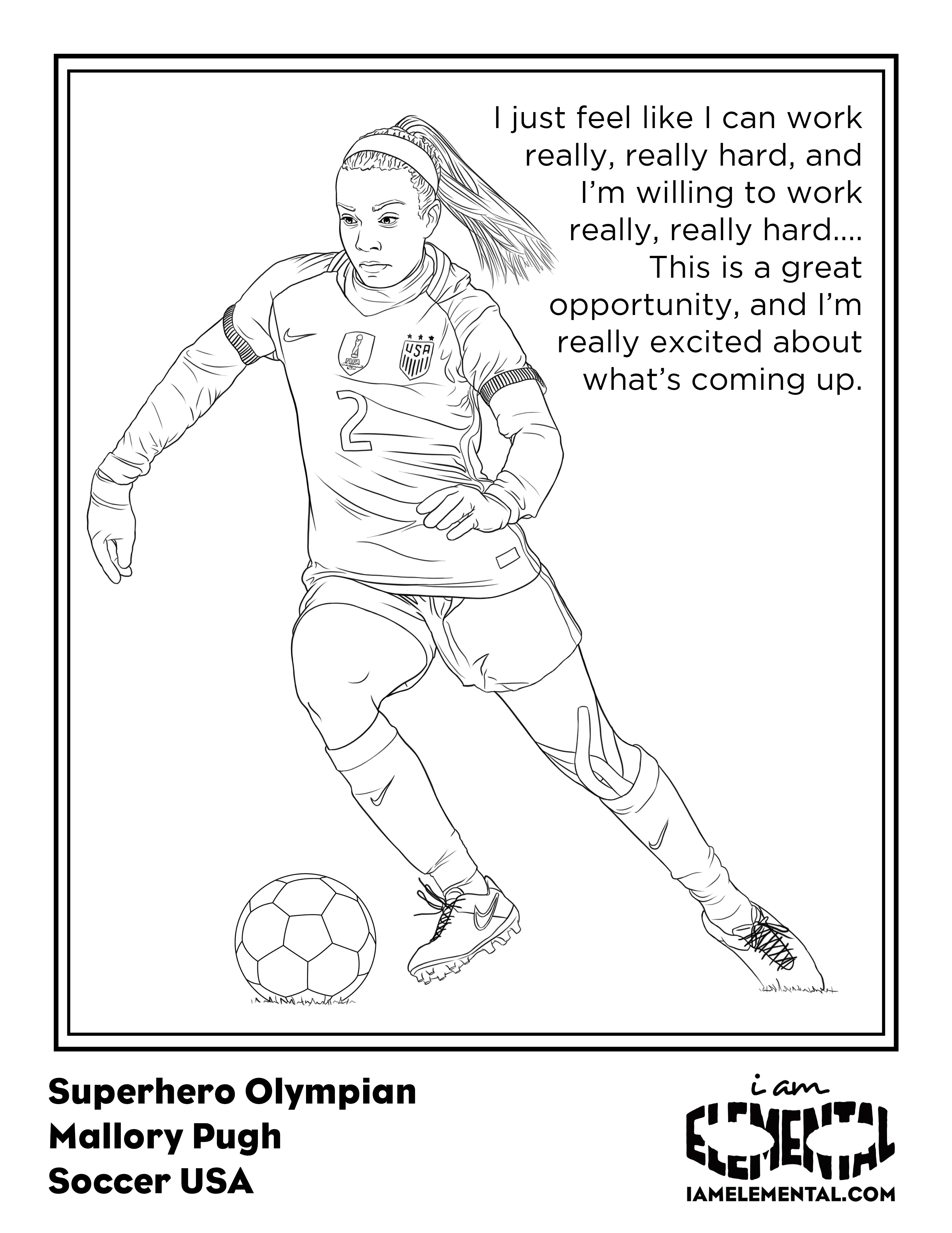 Olympians Coloring Book