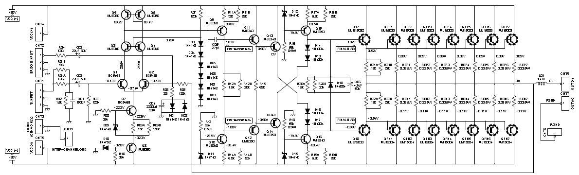 This is the circuit diagram of 2000W cl AB power ... Dj Amp Wiring Diagram on speaker crossover diagram, dj system wiring, tablet rca schematic diagram, dj cables diagram, stereo equalizer hook up diagram, subwoofer circuit diagram, dj lighting diagram, dj system installation diagram, dj wiring set, dj equipment diagram,