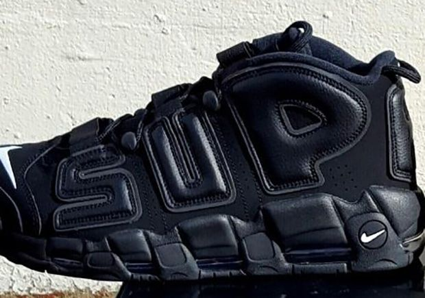 Supreme Nike Air More Uptempo Suptempo On-Feet | SneakerNews.com