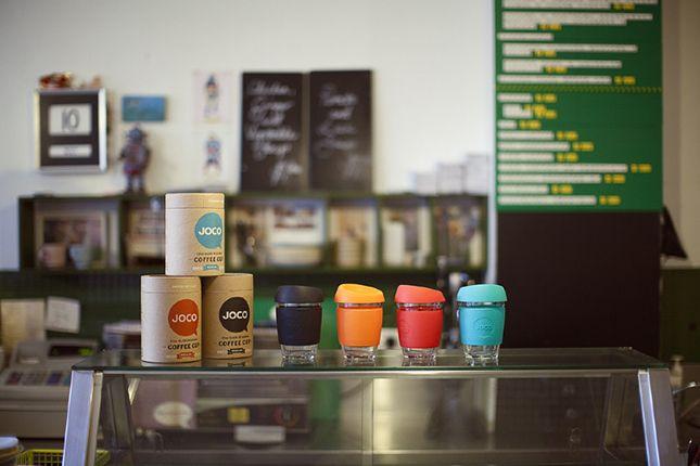 JOCO Coffee Cups. Cups that care.