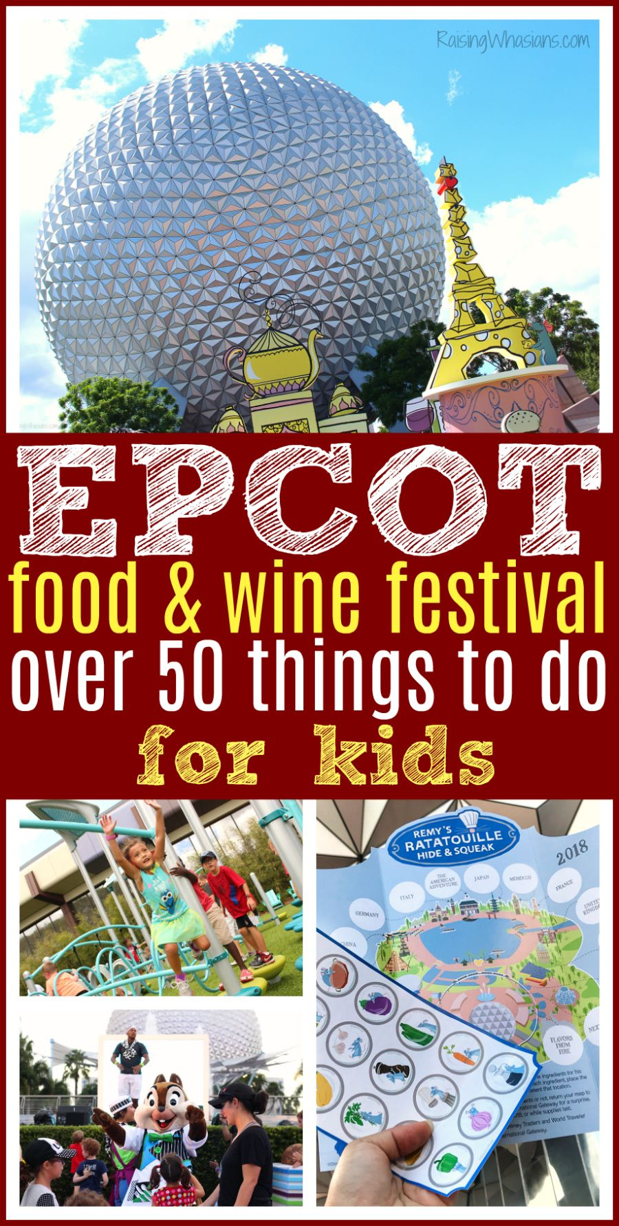 Over 50 Epcot Food And Wine Festival Things To Do For Kids Raising Whasians Disney World Tips And Tricks Epcot Food Epcot