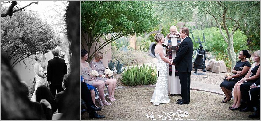 Intimate Wedding At The Hermosa Inn Phoenix Photographer