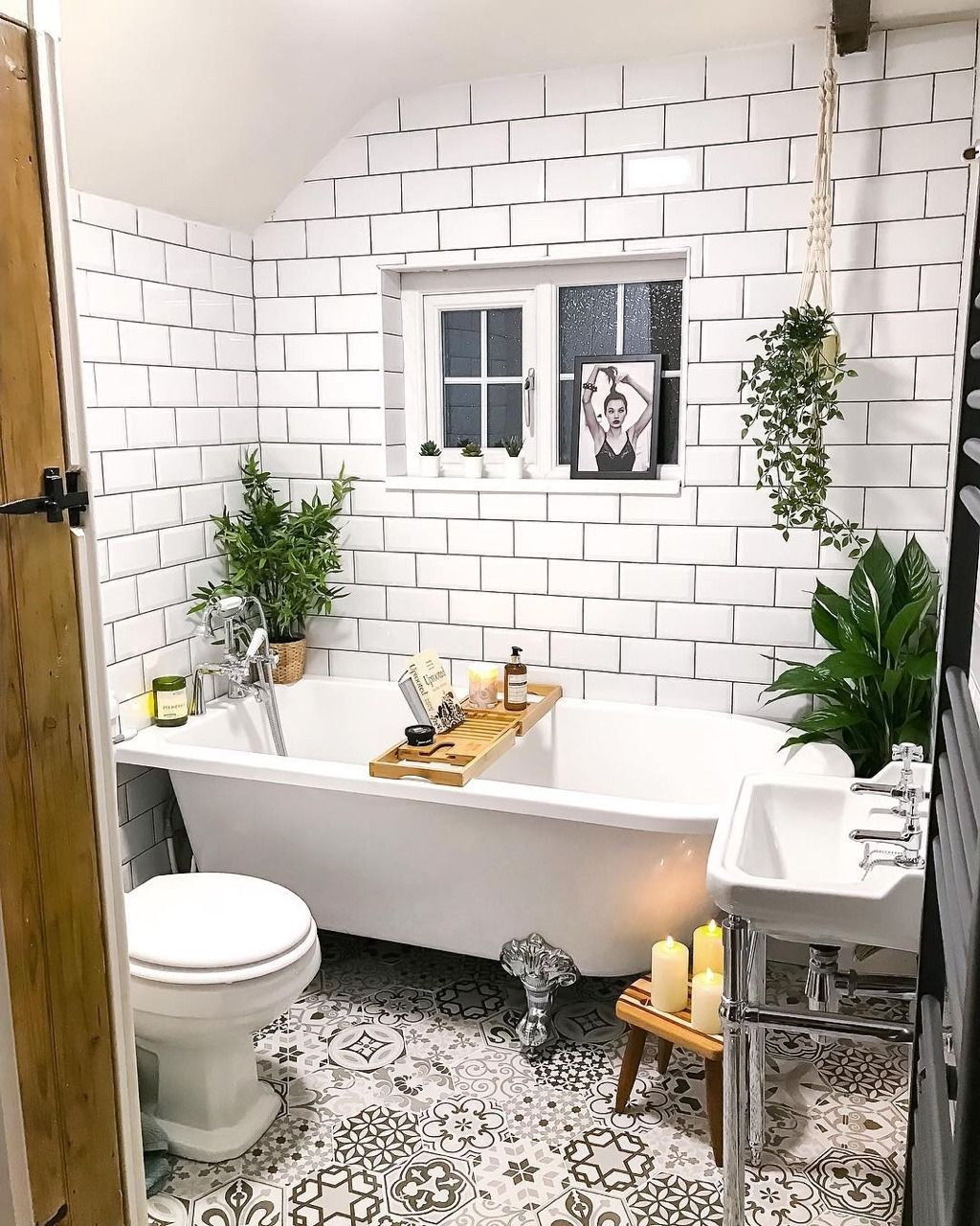 5 Gorgeous Scandinavian Bathroom Ideas: Bathroom Inspiration // Golden Fox Cottage The Perfect