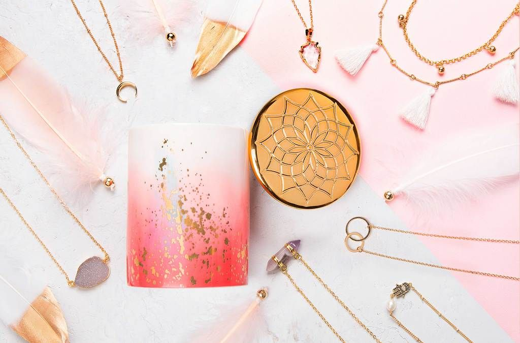 3295e25ed08f1 Wanderlust - Boho Necklace Candle – Charmed Aroma | Accessories in ...