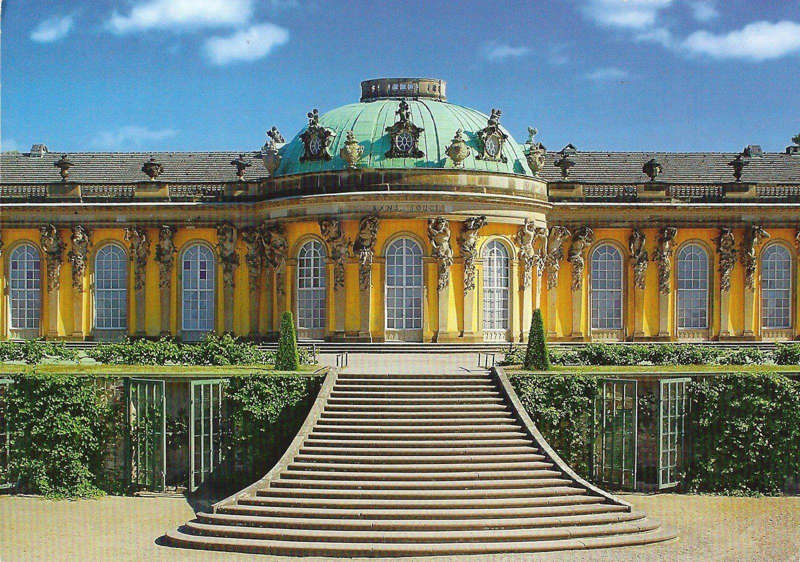 Sanssouci Palace Germany In 2020 New Palace Summer Palace Germany