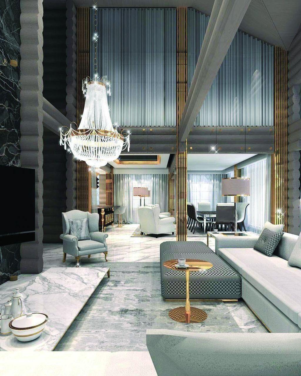 7+ Spektakuläre Moderne Wohnzimmer Innenarchitektur Ideen, Um Zu