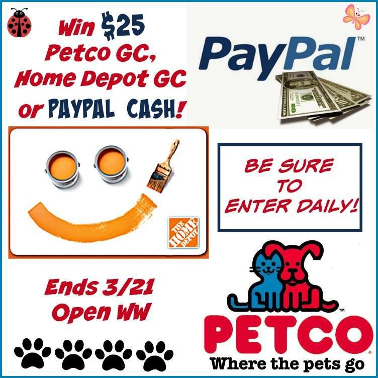 $25 Gift Card or Paypal Cash Giveaway (With images ... Happy Gift Card Home Depot