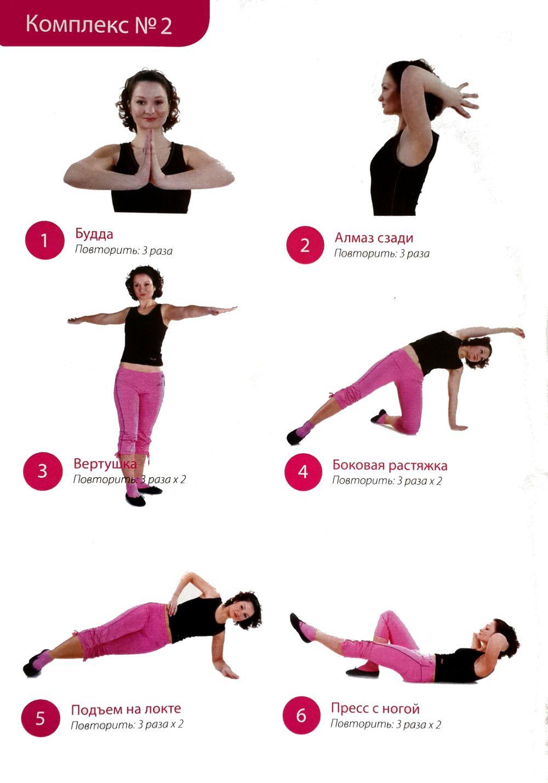 Похудеть система упражнений