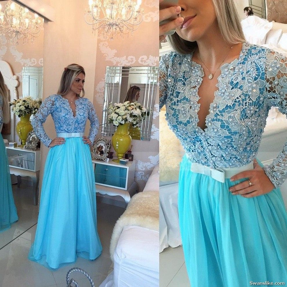 Long evening dress long prom dresses new years ladies dresses
